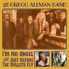 GREGG ALLMAN - I'M NO ANGEL & JUST BEFORE THE BULLETS FLY 2 CD NEUF