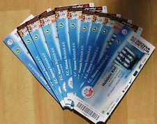 Eintrittskarte / Ticket Hansa Rostock - Wacker Burghausen  09.11.2013