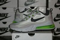Nike Air Max 270 React Summit White Electric Green Men's Shoes CI3866-100 NEW