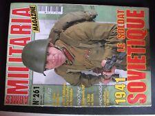 **j Revue Armes Militaria n°261 Le soldat soviétique / les chiens dans l'US Army