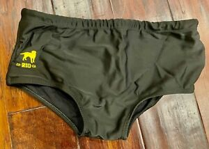 Ca-Rio-Ca Black Sunga Swim Brief S Small