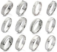 925 Verlobungsring Freundschaftsring mit echtem Diamant 11 zur Auswahl S13EB