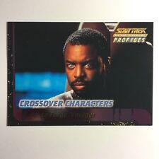 Star Trek TNG Profiles tarjeta especial c5 crossover character trading cards
