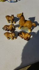 Wade whimsies Horses x5 Good Condition