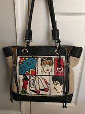Brighton TA-DA Leather Fashionista Shopper Tote Handbag Purse $395