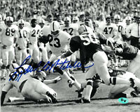 Lydell Mitchell signed Penn State Nittany Lions 8X10 B&W Photo