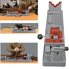 Best Gun Cleaning Station Vise Rifle Gunsmithing Tool Bench Shotgun Kit Rest new