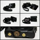 BLACK  leather case bag for Sony DSC-RX100 V RX100M5 RX100V camera New