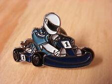 Go Kart pin badge. Go-Karting. F1 Karting.