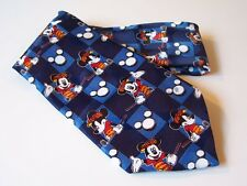 Mickey Mouse Golf Disney Novelty Tie Men's Poly Necktie Good Days, Bad Days