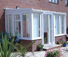 LEAN TO DIY QUALITY CONSERVATORY..SPECIAL OFFER (T4D)!