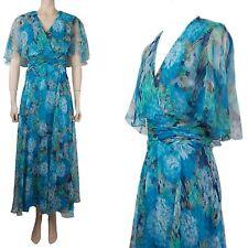 Unbranded V Neck Short Sleeve Maxi Dresses for Women