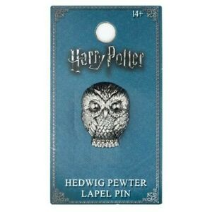 Harry Potter Hedwig Pewter Lapel Pin Officially Licensed Merchandise