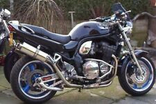 Suzuki BANDIT 1200 1995-2006 A16 Twin High Level Exhausts - Stainless Exhausts