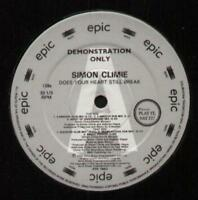 """SIMON CLIMIE Does Your Heart Still Break  12"""" Special Dj Issue 12 Inch Single, 6"""