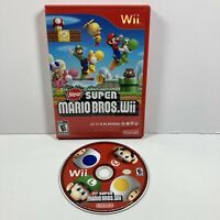 Nintendo Wii NEW SUPER MARIO BROS. Wii *Tested/Working* (No Manual)