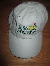 2006 MASTERS (Adjustable) Cap PHIL MICKELSON Winner