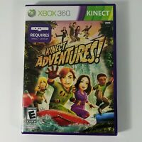 Kinect Adventures Xbox 360 Kids Game 1 Family Fun Outdoor Sports