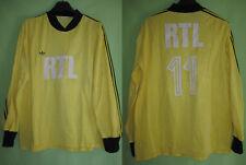 Maillot RTL porté Coupe de France Adidas Jaune #11 Ventex Match Jersey - L / XL
