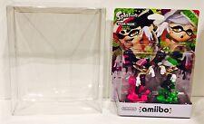 1 Box Protector For Most AMIIBO 2 packs Splatoon / Zelda Nintendo Display Case