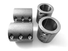 """4 Steel tube clamps weldable bolt on 1.75"""" 1 3/4"""" roll cage mounts ships today-L"""