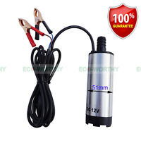 ECO-WORTHY DC 12V Submersible Transfer Pump Fuel Diesel Water Oil 30L/MIN