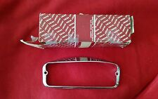NOS Lucas Park Turn Lamp Chrome Rim 54572619 MG Midget Austin Healey Sprite