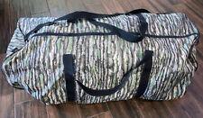 Huge Camoflauge duffel bag with shoulder strap Realtree
