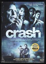 Crash: The Complete First Season 1 (4-DVD set, 2009) NEW - Dennis Hopper, Starz