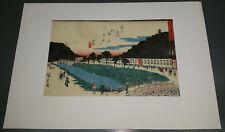 japonais Color Woodcut - kikakudo um 1834 - Ando Hiroshige 1797 - 1858 (57)