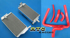 For Honda CR250 CR 250 R CR250R 2002 2003 2004 aluminum radiator + silicone hose
