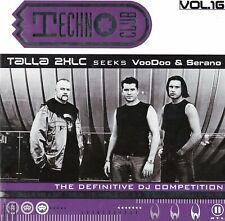 Techno Club Vol. 16 - 2CD MIXED - TALLA VooDoo & Serano