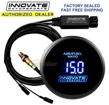 "Innovate 3795 Wideband Air/Fuel ""Db"" Gauge 52mm Afr Uego Blue Lc-2 Made In Usa!"