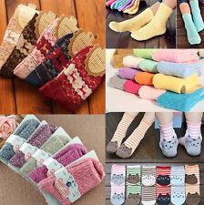 Women Lady Winter Ankle Socks Lace Christmas Cotton Wool Warm Sock Deer Socks