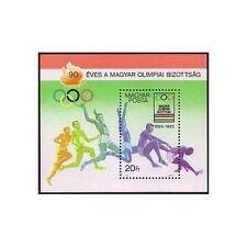 Briefmarken mit Olympische Spiele Thema aus Ungarn