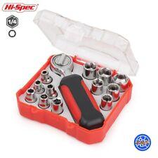 Hi-Spec 13pc Mini Ratchet Wrench Socket Set Metric Tool Kit 4mm-13mm