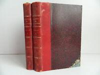 Oeuvres de François COPPEE Poésies Prose 2 volumes illustrations Lemerre 1886-90