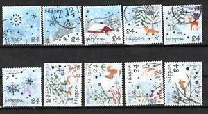 Japan 2020 ¥84 Winter Greetings, (Sc# 4461a-j), Used