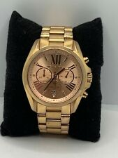Michael Kors MK5503 Women's Stainless Steel Analog Rose Dial Quartz Watch JD244