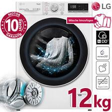 LG Waschmaschine 12 kg Frontlader 1400 U/min Dampf Inverter Direktantrieb AI DD