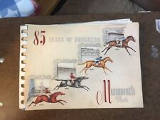 1956 NJ MONMOUTH PARK HORSE RACING MEMORIAL BOOKLET 85 Jockeys Statistics Events