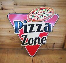 Blechschild geprägt Pizza Küche Bar Hausbar NEU