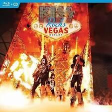 KISS: KISS Rocks Vegas (Blu-ray Disc, 2016, CD/Blu-ray)