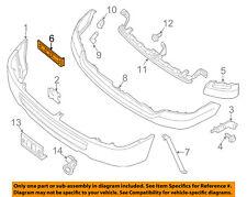NISSAN OEM 12-18 NV3500 Front Bumper-Side Bracket Left 622231PA0A