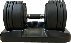 Blitz Fitness Adjustable Dumbbells (Pair, 2-20kg)