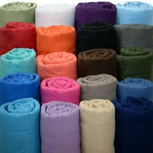 1000 TC Egyptian Cotton Select Bedding Comforter US Full & Solid Colors