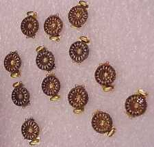 Necklace Clasp Goldtone Double Strand Filigree Miram Haskel Style Pack of 12