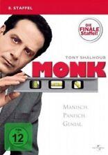 MONK-SEASON 8 - 4 DVD NEUWARE TONY SHALHOUB,TRAYLOR HOWARD,TED LEVINE