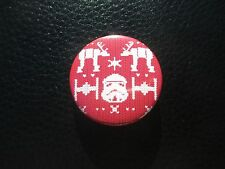 2015 SDCC Exclusive Hallmark Christmas Star Wars SECRET UGLY SWEATER PIN!