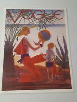 Vintage Art Deco Vogue Poster//Art Print /'Fashion/' 17x22 1935 Reproduction